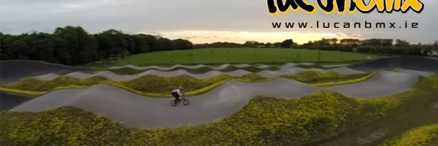 Lucan BMX Track from the Sky